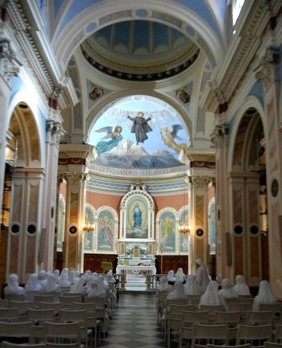 Abbiamo potuto animare coni canti la Celebrazione Eucaristia e ci siamo sentite fraternamente accolte dai Padre Passionisti.