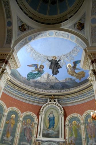La cupola dell'Antica Basilica