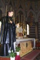 La Statua di San Gabriele dell'Addolorata nella Capella del Santo