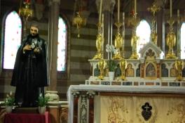 San Gabriele venne dichiarato beato nel 1908 da Pio X e ploclamato santo da Benedetto XV nel 1920.