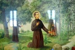 Illustrazioni della vita di San Gabriele dell'Addolorata.