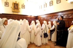 Il Coro o cappella privata dove San Gabriele pregava giorno e notte.