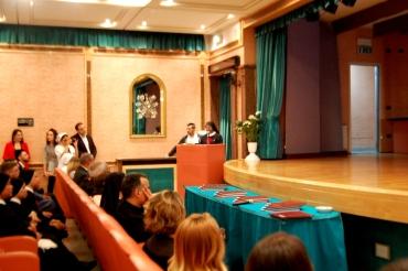 Sr Nirmala Namarapu presenta una Tesi di Laurea sul tema: Valutazione della frabilità dell'anziano all'accesso del DEA di un ospedale romano.