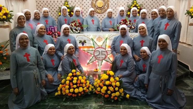 Giubileo del Mother Vannini Hospital di Tadepalligudem in India